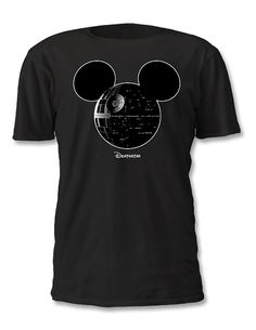 Death Star Mickey Star Wars Disney Shirt by WideAwakeStudio, $15.00