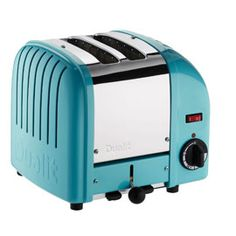 Dualit Vario 2 Slot Toaster Azure Blue. you can get a sandwich cage!!