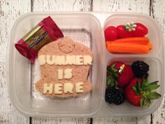 Last day of school lunch | packed in @EasyLunchboxes containers