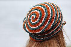 Labyrinth - crochet hat by plainsight, via Flickr