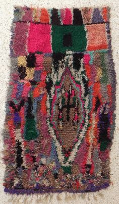 Boucherouite Rug 4#3 - 5.5 x 3