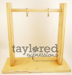 Frame Your Imagination Vertical Stand.  For hanging monthly handmade calendars.