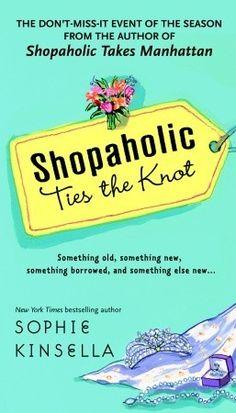 the knot, shopahol seri, funny books, book worth, read, knots, book series, sophi kinsella, shopahol tie