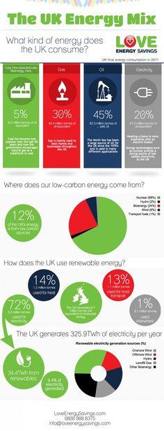 The UK Energy Mix