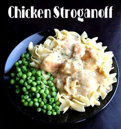 Chicken Strogonaff (40 minutes)   2 pounds boneless skinless chicken breasts  3/4 C flour  salt, pepper, olive oil  2 TBSP butter  1 + 1/2 C chicken broth  2-10 oz cans cream of chicken soup  1 tsp parsley, dried  1/2 tsp thyme, dried  3 TBSP sour cream  1/2 tsp cajun style seasoning (optional, but it really adds flavor.)  Hot buttered Egg Noodles