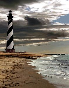 Cape Hatteras, North Carolina - look at that sky!