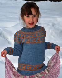 Walking Cat Sweater by Elizabeth Lovick