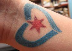 Tattoo #4: So much Chicago love.
