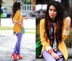 I love the crazy colors...