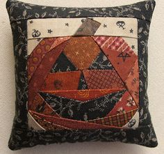 """Simple Quilts and Sewing"" magazine- pin cushion fall issue -Poor Lil' Punky"""