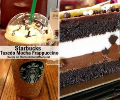 Starbucks Secret Menu Tuxedo Mocha Frappuccino! Order by recipe here: http://starbuckssecretmenu.net/starbucks-secret-menu-zebra-or-tuxedo-mocha-frappuccino/ Starbuck Secret, Zebra, Mocha Tuxedo, Tuxedo Mocha