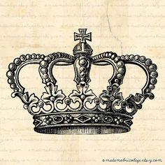 crown drawing. pretty sweet