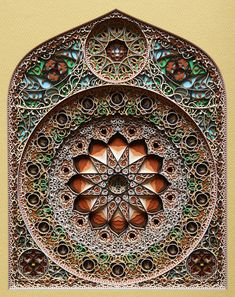 Amazing laser cut paper art created by Eric Standley