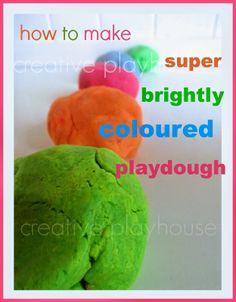 playdough recip, creativ playhous, creative playhouse