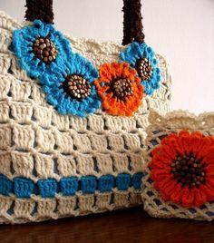 #crochet #knit #patterns #tote #bags #purses