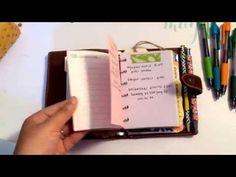 ▶ Malden Pocket Filofax Set Up! {wallet} - YouTube