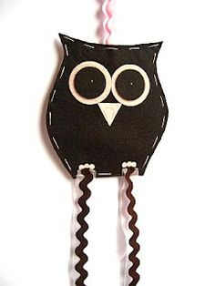 Owl Clip Holder