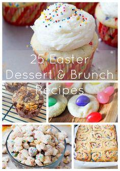 Easter Dessert + Brunch Recipes