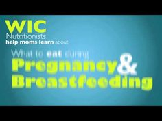 WIC nutritionists help moms learn about shopping for healthy foods, cooking delicious meals, what to eat during pregnancy and breastfeeding, and what to feed babies and growing kids. meal plan