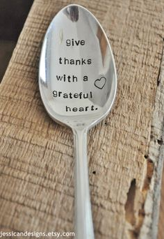 Give Thanks With A Grateful Heart Large Hand by jessicaNdesigns