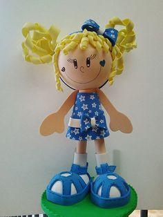 fun foam girl doll...photo...adorable!