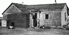 Early Settler Farming | Homes Made From Prairie Soil Helped Early Pioneers Survive. | Western ...