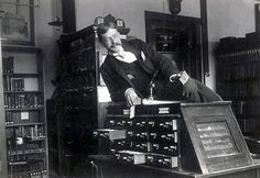 Hot librarian! From 25 Vintage Photos of Librarians Being Awesome.