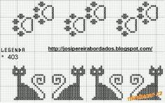 Bag with kitty. Crochet schema 2