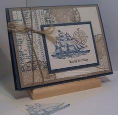 Open Sea Birthday card