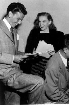 Judy and Frank Sinatra