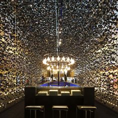 Cara Ang of Asylum Creative discusses the Singapore creative agency's pop-up store for watch brand Hublot made of thousands of folded-paper crystal shapes..