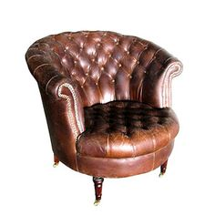 Barrel Armchair now featured on Fab.
