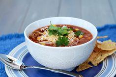 Part soup, part chili....it's TACO CHILI!