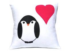 Penguin Love Pillow