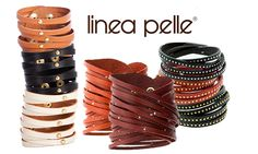 Unleash your inner rock star with these studded leather bracelets by Linea Pelle! Available at 71% OFF!! http://chictreat.com/ rock stars, inner rock, leather bracelets