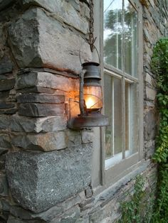 I want lanterns that light up on my porch