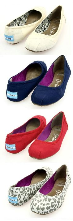 I wish I could buy every pair of TOMS SHOES! These are one pair of my favorite TOMS shoes.$19 just Click it.