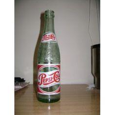 Una botella antigua de Pepsi... Específicamente, el modelo diseñado por mi bisabuelo