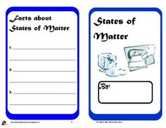 Science Idea: States of Matter Book