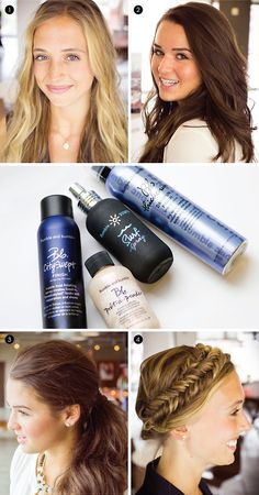 the products you'll need to recreate these stylish hairdo's