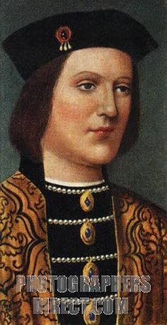 King Edward IV portrait ( reigned 1461 1483 ) . Edward was made king by Warwiick , but Edward soon killed Warwick in battle . Edward had his brother murdered , but the crime haunted the King throughout life