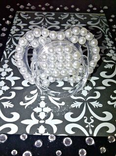 beautiful pearl pacifier