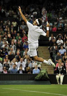 Federer at Wimbledon <3