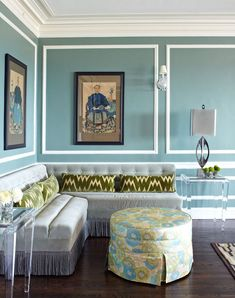 House of Turquoise: Turquoise and Orange