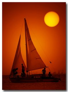 photographer: Sylvia Lilova   #Sunsets #Boats #Sailing