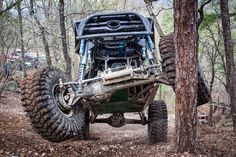Careful in Hot Springs, Trees Fight Back -- 2014 Genright Ultra4s at Superlift