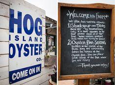 Hog Island Oyster Company - Tamales bay