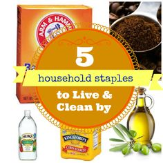 coffe grind, car accessories, clean oven, olive oils, household stapl, bake soda, household items, ink stains, cleaning tips