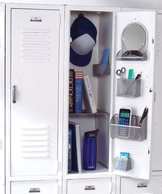 Locker Organization****Students usually have a lot of items to fit into a fairly small locker, so maximizing this small space can be a challenge. Follow these tips for fun and functional locker organization solutions that will help students keep their lockers organized the whole year through.