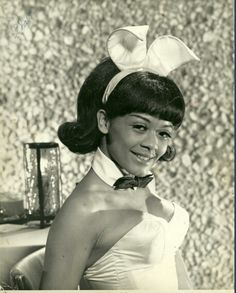 Sharon Risiner-One of Playboy's first black bunnies